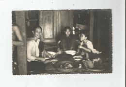 CAMBODGE CARTE PHOTO DINER FAMILIAL - Cambodge