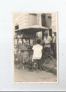 CAMBODGE CARTE PHOTO MARCHANT AMBULANT PHNOM PENH SCENES DE RUE - Cambodge