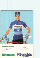 Anastasio GRECIANO . 2 Scans. Cyclisme. Reynolds - Radsport