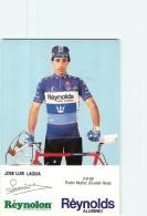 José Luis LAGUIA . 2 Scans. Cyclisme. Reynolds - Radsport