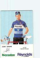 Julian GOROSPE . 2 Scans. Cyclisme. Reynolds - Radsport