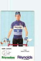 Ruben GOROSPE . 2 Scans. Cyclisme. Reynolds - Radsport