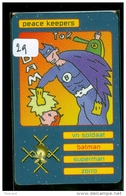 TELEFOONKAART * SFOR * PEACE KEEPERS (29) NEDERLAND FL 50,00 Soldiers On Mission LIMITED EDITION * TELECARTE * PHONECARD - Leger