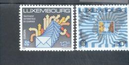 CEPT Transport Und Kommunikationsmittel Luxemburg 1199 - 1200  MNH ** Postfrisch - Europa-CEPT