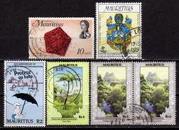 MAURITIUS - Lot 5 Verschiedene  Used - Mauritius (1968-...)
