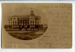 A 18832   -   Carte Photo à Identifier  -  Hôtel  -  Expédiée à Anvers Vers Namur En 1900 - Belgique