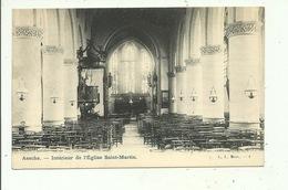 Assche Intérieur De L'Eglise Saint Martin - Asse