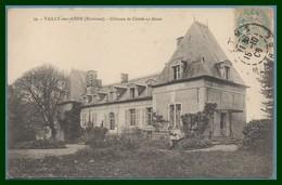 CPA Vailly Sur Aisne Château De Condé Sur Aisne Voy 1906 - France