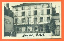 """CPA 52 Bourbonne Les Bains """" Grand Hotel """" Editeur Delboy - LJCP 15 - Bourbonne Les Bains"""