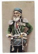 RUSSIE - GOURIETZ - TYPE DE CAUCASE - HOMME - COSTUME - MILITARIA - ARMES - Carte Colorisée / Colored Card - Russie