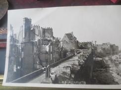 St-MALO-BOMBARDE - LES REMPARTS - DOCUMENT PHOTO BEROUL - 1939-45
