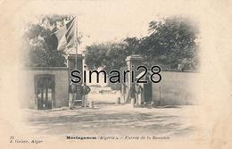 MOSTAGANEM - N° 25 - ENTREE DE LA REMONTE - Mostaganem