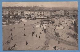 CPA Nice Place Massena Tramway Voy 1927 TB (manque TP Verso) - Markten, Pleinen