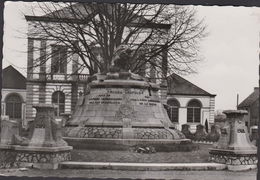 Grote Kaart Leopoldsburg Monument Der Gesneuvelden 1914 1918 WWI WW1 - Leopoldsburg
