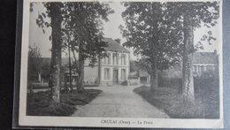 Crulay - La Poste - Autres Communes