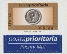 PRIORITARIA 2004  -  1 FRANCOBOLLO NUOVO EURO  0,80 (230315) - 6. 1946-.. Repubblica