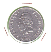 POLYNESIE FRANCAISE / 50 Fr / 1985 - Polynésie Française