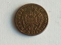 Jeton Tu Domine Spes Mea 1752 - Faux Ducat Or Du Reader's Digest - Adel