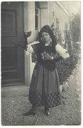 Cpa  Carte- Photo Femme Espagnole ? Espagne, éventail     ((S.1511)) - Espagne