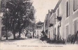 """47 CANCON  Vue Sur L""""  EPICERIE Droguerie Commerce De GRAINS Ancienne Avenue De CASTILLONNES - Autres Communes"""