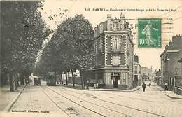 E-16 3122 :  NANTES   BOULEVARD VICTOR-HUGO PRES DE LA GARE DE LEGE. - Nantes