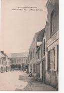 JUBLAINS  - ( Mayenne ) - La Place De L'église - Hôtel De L' OUEST - Autres Communes