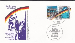Germany FDC 1990 The Peaceful Opening Of The German-German Borders  (T2-11) - FDC: Buste