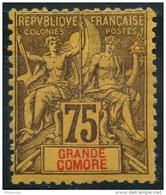 Grande Comores (1897) N 12 * (charniere)