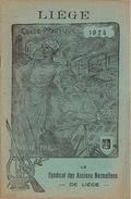 LIEGE 1924 - Guide Pratique Publié Par Le Syndicat Des Anciens Normaliens De Liège- 38 Pages - Imprimerie H. DESOER - Culture