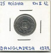 D11 Bangladesh 25 Poisha 1978. KM#12 - Bangladesh