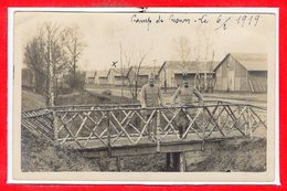 77 - CESSON -- Carte Photo - RARE - France