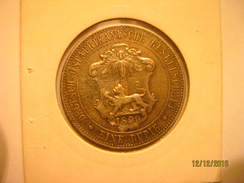 German East Africa: 1 Rupee 1899 - Africa Orientale Tedesca