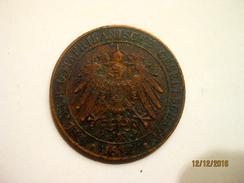 German East Africa: 1 Pesa 1892 - German East Africa