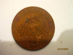German East Africa: 1 Pesa 1891 - Deutsch-Ostafrika