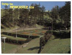 (PF 406) Australia - Older Postcard - NSW - Newcastle Grdens - Newcastle