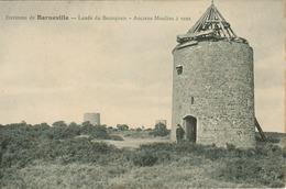 Barneville Sur Mer - Environs De Barneville  -Lande De Beauquais - Anciens Moulins à Vent - Autres Communes