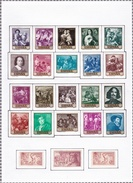 Espagne - Collection Vendue Page Par Page - Timbres Oblitérés / Neufs */** (avec Ou Sans Charnière) - Colecciones
