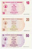Zimbabwe P 39 - 10 Dollars 1.8.2006 BEARER CHEQUE - UNC - Zimbabwe