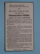 DP Philomène Marie PEERENS ( Sodermans ) Sint-Niklaas 14 Nov 1869 - Hoeilaart 10 Oct 1943 ( Zie Foto´s ) !