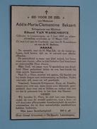 DP Adèle-Maria-Clementine BEKAERT ( Van Wassenhove ) Leeuwergem 5 Jun 1899 - 14 Maart 1947  ( Zie Foto´s ) !