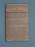 DP Sebastien TERLAEKEN ( Virginia Van Vlerken ) Hoeilaart 15 Juli 1874 - 8 Mei 1943  ( Zie Foto´s ) !