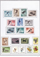 Saint Marin - Collection Vendue Page Par Page - Timbres Oblitérés / Neufs */** (avec Ou Sans Charnière) - Collections, Lots & Séries