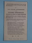 DP Suzanne VANDENBORRE ( Dochter Van Albert En Angèle CHARLIER) Hoeilaart 10 Jan 1944 - 13 Maart 1944 ( Zie Foto´s ) !