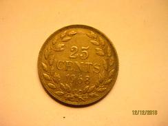 Liberia 25 Cents 1968 - Liberia