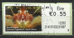 Irlanda 2011 - Squat Lobster (Munida Rugosa)  Animali (Fauna)   Crostacei   Vita Marina (su Frammento) - Affrancature Meccaniche/Frama