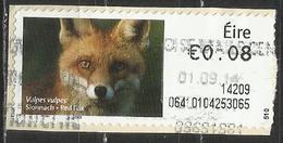 Irlanda 2013 - Red Fox (Vulpes Vulpes) Animali (Fauna) | Mammiferi | Volpi (su Frammento) - Affrancature Meccaniche/Frama