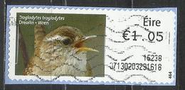 Irlanda 2014 - Wren (Troglodytes Troglodytes) Animali (Fauna)   Uccelli - (su Frammento) - Affrancature Meccaniche/Frama