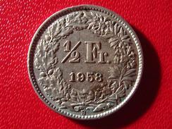 Suisse - Demi Franc 1/2 Franc 1958 B 3715 - Switzerland