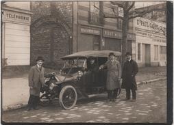 Photo Originale Auto à Identifier Lemoine Gravel  Paul Gadot & Tournaire Sté Constructions Mécaniques Seine - Automobili