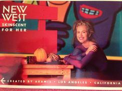 Cartes Parfumée  NEW WEST SKINSCENT  FOR HER - Modern (from 1961)